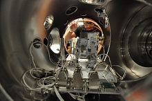 Photo - inside RCI sample chamber