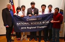 Photo - Homestead High School team wins 2014 Science Bowl at SLAC