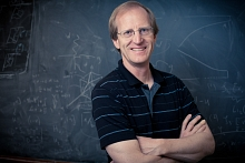 Photo – SLAC particle theorist Lance Dixon, one of th...