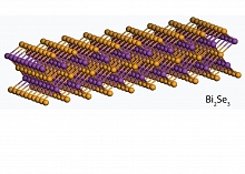 Image - Representation of a flexible conductor A double-decker sandwich of selenium and bismuth makes for a flexible, sturdy conductor
