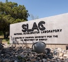 SLAC gate sign
