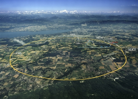 Image of The Large Hadron Collider in Geneva
