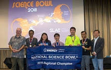 Regional Science Bowl champion team