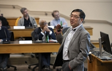 Chi-Chang Kao at Stanford Faculty Senate meeting